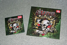 "Saxon-Live to rock part 1 & 2 (Night of the Vinyl Dead notvd, 12"" +7"" + póster)"