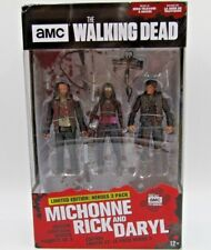 McFarlane Toys Walking Dead MICHONNE, RICK and DARYL Limited Edition Hero 3 Pack