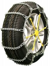 Quality Chain 1817 V-Bar Link Tire Chains Chain Snow Traction Passenger Car