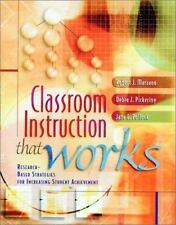 Classroom Instruction that Works-Research Based Strategies Student Achie-Marzano
