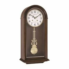 London Clock Co 51cm Bois Foncé Traditionnel Pendule Horloge Murale