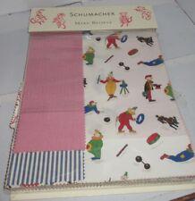 Vintage Rare Schumacher Sample Book Make Believe Children's Fabric Swatches Nice