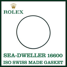 ♛ ♛ ROLEX Case Back Gasket ISO Swiss Made High Grade For Sea-Dweller 16600 ♛ ♛