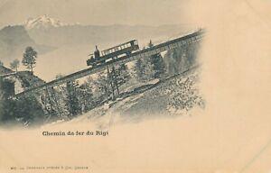 SWITZERLAND – Chein de Fer du Rigi – udb (pre 1908)