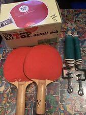 Table Tennis Set. 2 Paddles/bats 60+ Balls & Net
