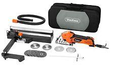 VonHaus Mini Handheld Circular Saw 500W 3 Sizes  + 5pc Resin Cutting Disc Set