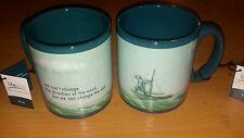 Two 'sail' lifelines mugs.