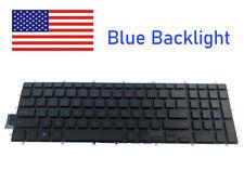 New For Dell Gaming G3 3579 3779 3590 Laptop Blue Backlight Keyboard Black