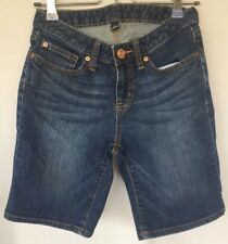 "Gap 1969 Women's Size 0 Waist 24"" Dark Denim Shorts"