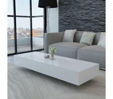 244021 vidaXL Coffee Table High Gloss White