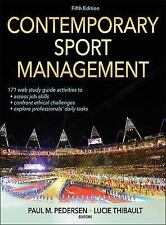 Contemporary Sport Management-5th Edition With Web Study Guide-ExLibrary
