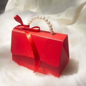 10pcs Party Wedding Supplies Favor Treat Candy Gift Chocolate Boxes Wrapping Bag