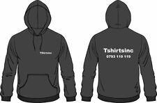 Cotton Hooded Long Sleeve Personalised T-Shirts for Men