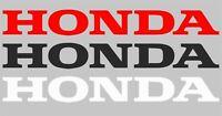 Honda decals stickers vinyl emblem logo graphics aufkleber motorcycle car bumper