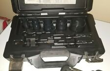 """HOLE SAW KIT 7/8"""" - 2 1/2"""" WITH ARBORS AND CASE"""