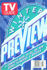TV GUIDE January 18, 1997 Special Issue Winter Preview over 280 Pages SHIPS FREE
