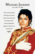 MICHAEL JACKSON YOU ARE LOVED  POSTER PRINT 24x36 NEW FAST FREE SHIPPING