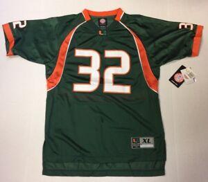 Nike Miami Hurricanes #32 Replica Jersey - Youth XL
