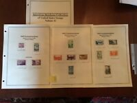 US Stamp Year Sets 1935 to 1939 Complete. See Below Description