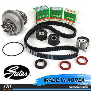 ⭐Gates HTD Timing Belt Kit Water Pump for 99-08 Suzuki Forenza Reno Optra Nubira