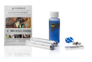 Entlüftungskit Service Kit für Magura Bremsen inkl. Mineralöl Bremsflüssigkeit