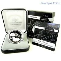 2006 STATE GOVERNMENT 150 YEARS VICTORIA Silver Proof Coin