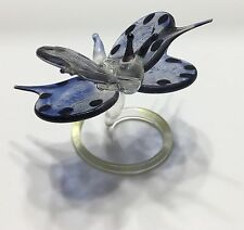 Vintage Hand blown spun glass Dragon Fly