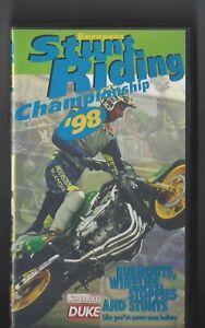 Vintage Stunt Riding Championship Motorcycle Superbike 1998 VHS Duke Video