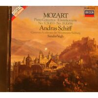 ANDRAS SCHIFF/SANDOR VEGH piano concertos n°17-18 MOZART CD 1985 Decca