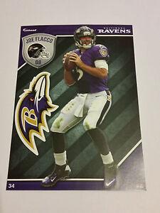 2015 Joe Flacco Baltimore Ravens NFL Fathead Tradeables Football