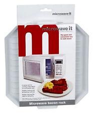 Microwave It Microwaveable Bacon Crisper Cook Defrost Plastic Safe Easy Clean