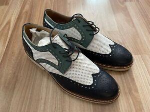 Raffaele d'Amelio Full Brogue Derby Shoes