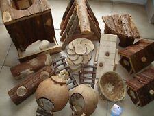 Näger, Mäuse Spielplatz,Buddelturm,Häuser,Leitern, Konvolut 14 Teile, gebraucht
