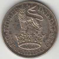 1928 George V Silver One Shilling | Pennies2Pounds (G2)