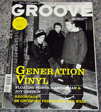 GROOVE MAG 3/4 2011 Vinyl Presswerk Ricardo Floating Points Ramdanm Joy Orbison