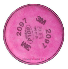50packs=100 pcs 3M 2097 particulate filter P100 for 6000, 7000 series respirator