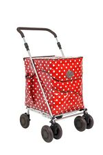 SPECIAL OFFER Sholley Trolley NEW design 'The Carnaby' Deluxe Shopping Trolley