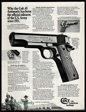 1977 COLT Government MK IV Series '70 Model 7 .45 Automatic Pistol AD