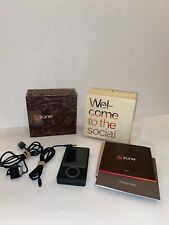 Microsoft Zune Mp3 Player 30Gb Black - Original Box Media Player