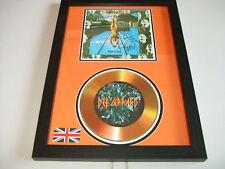 DEF LEPPARD  SIGNED  GOLD CD  DISC