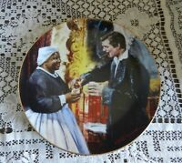 """1990 Gone With The Wind Collector Plate - """"A Toast To Bonnie Blue"""""""