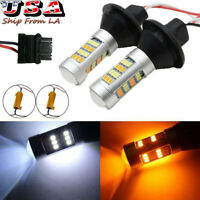 3156 Switchback Kit Dual-Color LED For Turn Signal Daytime Running Lights DRL