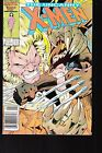 UNCANNY X-MEN #213 1986 MARVEL WOLVERINE-VS-SABRETOOTH MUTANT MASS. FN