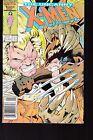 UNCANNY X-MEN  #213 1986 MARVEL WOLVERINE-VS-SABRETOOTH MUTANT MASS.   FN