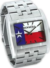NEW IN BOX MENS Rockwell APOSTLE Wrist Watch SILVER TEXAS AP-TEX LIMITED USA