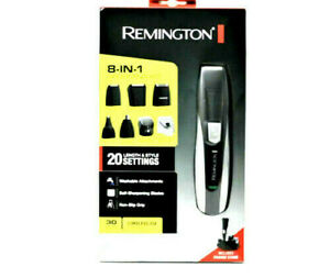 Remington 8 in 1 Personal Grooming System Platinum Collection Washable PG350 NIB