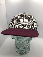 Vans Mesh Snapback Trucker Hat Skater Cap Skateboard Off The Wall