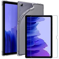 """Samsung Galaxy Tab A7 10.4"""" T500 T505 2020 Gel Estuche Tableta Cubierta De Vidrio Templado"""