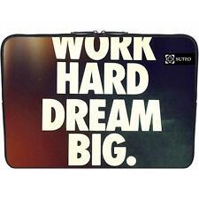"Housse Neoprene PC Portable 15.6"" pouces - Work Hard Dream Big - ref 519"
