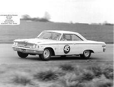 JACK SEARS FORD GALAXIE 1963 PHOTOGRAPH BTCC SILVERSTONE INTERNATIONAL WILLMENT